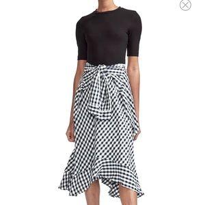Maje rapri gingham dress